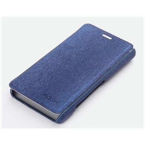 Network Shop Sony Xperia T Lt30p Rock Flip Leather Case Blu