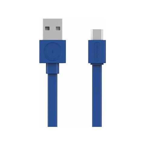 ALLOCACOC Cavo di Ricarica USB / Micro-USB Colore Blu