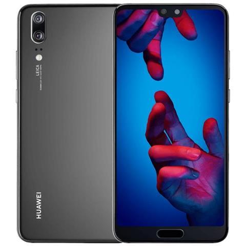 "HUAWEI P20 Nero Display 5.8"" Full HD Octa Core Ram 4GB Storage 128GB Wi-Fi + 4G LTE Fotocamera 24Mpx Android - Vodafone Italia"
