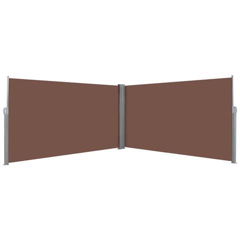 Tenda Da Sole Laterale Retrattile 160x600 Cm Marrone