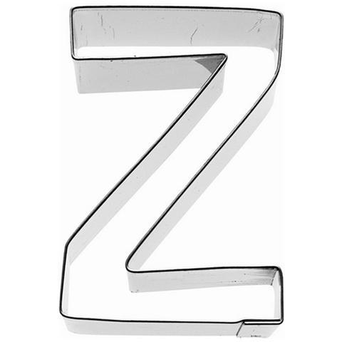 Tagliapasta Lettera Z In Metallo 6 Cm