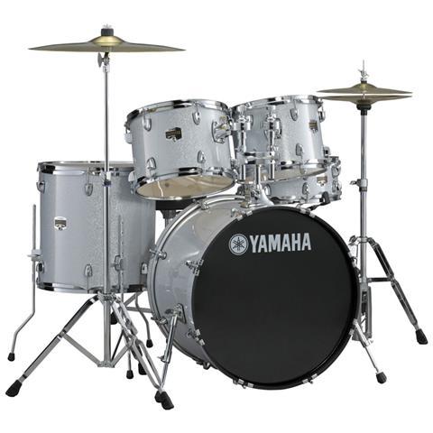 Yamaha Gigmaker 22 Silver Glitter - Batteria Acustica Grigia Da Studio