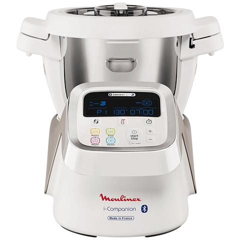 i-Companion Bluetooth HF900110 Capacità 4,5 Litri Potenza 1550 Watt Colore Bianco