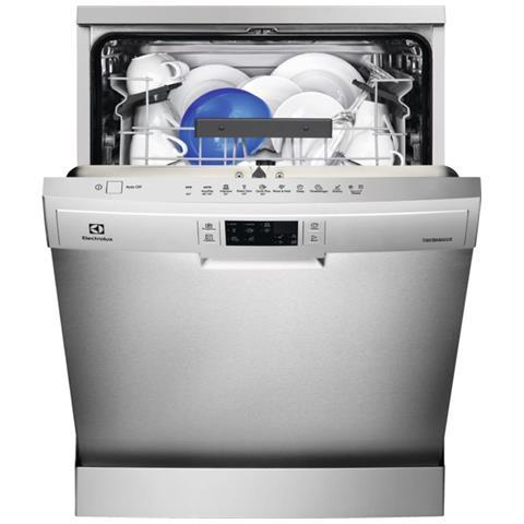 Lavastoviglie ESF5545LOX Classe A+++ Capacità 13 Coperti Colore Inox a Libera Installazion...