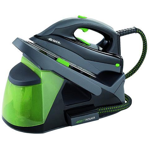 Image of 6430-Ferro da Stiro a Caldaia ECO Potenza 2000 Watt Colore Nero / Verde