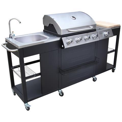 Barbecue a gas Missouri 4 bruciatori +1