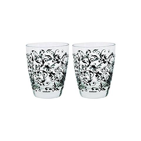Set 6 Bicchieri Domus Grigio