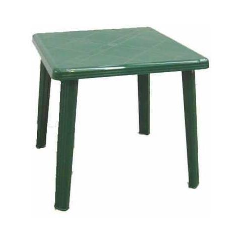 Tavolo Da Giardino Quadrato In Resina