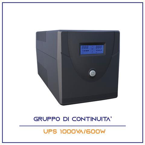 Gruppo Di Continuita' Ups 1000va Per Pc Monitor Telecamere Dvr Stabilizzatore Tensione