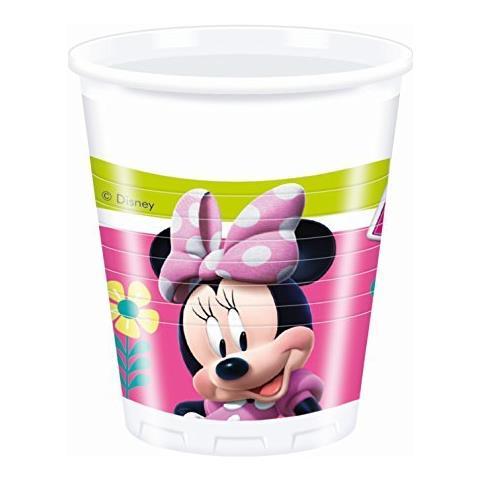 Minnie Happy Helpers - 8 Bicchieri 200ml