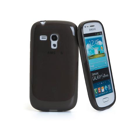 CELLY tpu cover galaxy siii mini bk