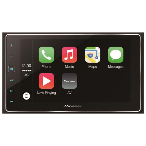 PIONEER Sintomonitor SPH-DA120 Supporto MP3 / WMA / FLAC / DivX 4x50Watt Display 6'' Bluetooth USB ingresso AUX AppRadio Mode compatibile Apple