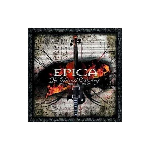 WARNER BROS Cd Epica - Classical Conspiracy