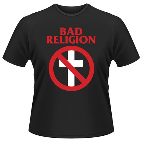 PLASTIC HEAD Bad Religion - Cross Buster (T-Shirt Unisex Tg. M)