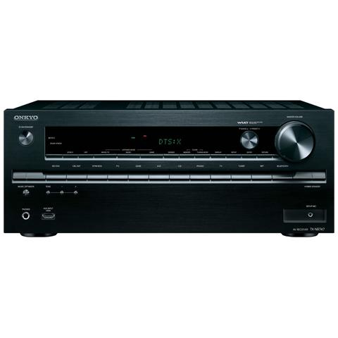 ONKYO Sintoamplificatore TX-NR747 7.2 Potenza Totale 1225Watt Ultra HD 4K HDMI AirPlay / Bluetooth