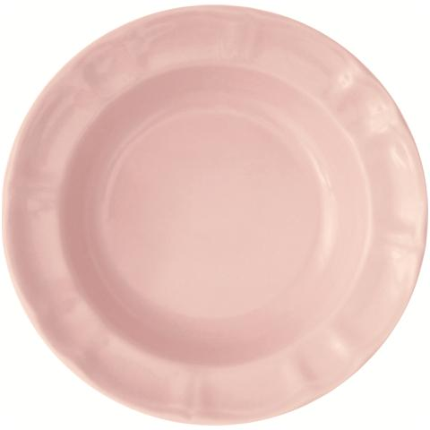 EXCELSA Piatto fondo rosa cm. 22.