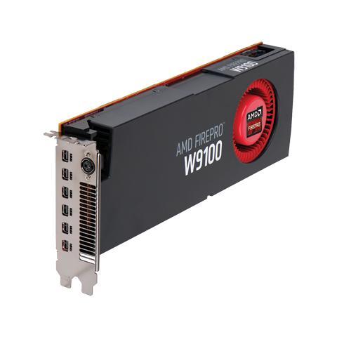 Image of FirePro W9100 32GB GDDR5 PCi-E 6x Mini DisplayPort