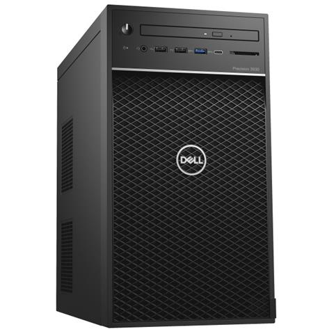 Workstation Precision 3630 Intel Xeon E-2274G Quad Core 4 GHz Ram 8GB SSD 256GB Nvidia Quadro P620 2GB DVD-RW 5xUSB 3.0 1xUSB 3.1 Windows 10 Pro
