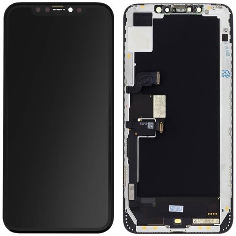 Lcd Iphone Xs Max Schermo Con Touchscreen Originale Ricondizionato Nero