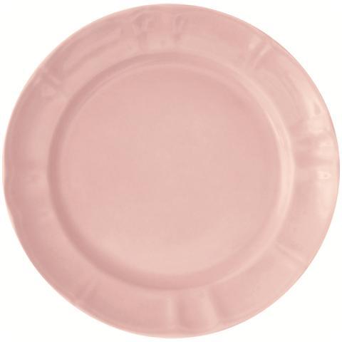 EXCELSA Piatto piano rosa cm. 27.
