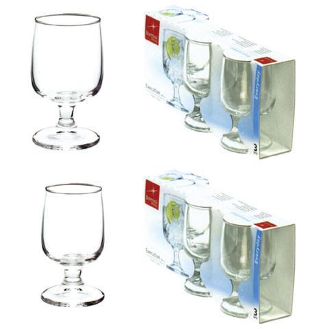 Confezione 3 Pezzi Bicchiere per Acqua - Modello Executive