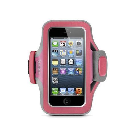 Belkin Fascia da braccio Slim-Fit Plus per iPhone 5 / 5s / 5c - Rosa