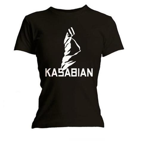 ROCK OFF Kasabian - Ultra Black (T-Shirt Donna Tg. S)