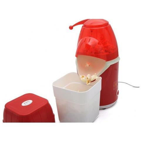 Macchina Per Popcorn Pop Corn Maker Cottura Senza Grassi E Olio 1200w