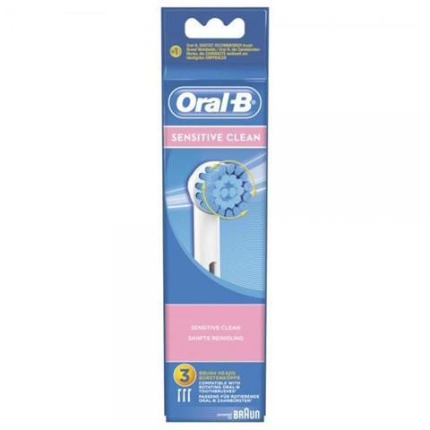 BRAUN EBS17-3 Testina di ricambio per spazzolino elettrico Sensitiv