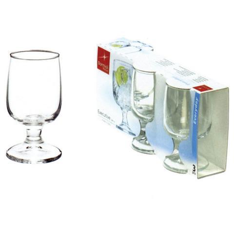 BORMIOLI Confezione 3 Pezzi Bicchiere per Vino - Modello Executive