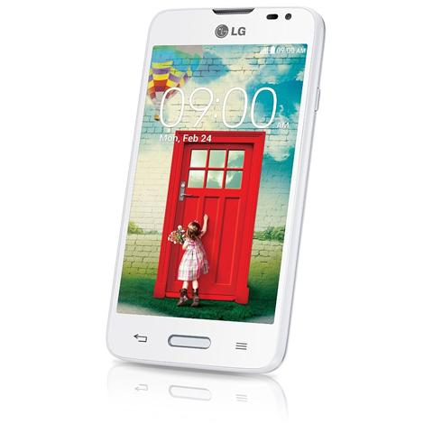LG D280 L65 White Display IPS 4.3'' Dual Core Ram 1Gb Storage 4Gb + slot MicroSd WiFi BT 3G Fotocamera 5Mpx Android 4.4 - Italia