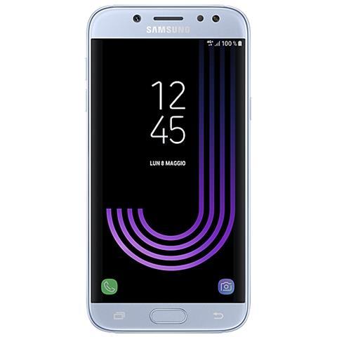 "SAMSUNG Galaxy J7 (2017) Blu 16 GB 4G / LTE Dual Sim Display 5.5"" Full HD Slot Micro SD Fotocamera 13 Mpx Android Italia"
