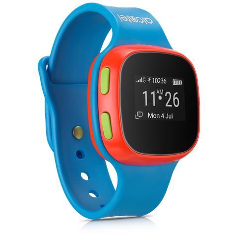 CHILD EXPLORER Orologio GPS per bambini MoveTime, consente la localizzazione, di effettuare e ricevere telefonate e messaggi vocali colore blu Speciale Mamiclub