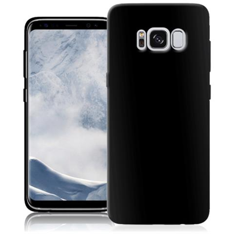 FONEX Cover in TPU per Galaxy S8+ Colore Nero