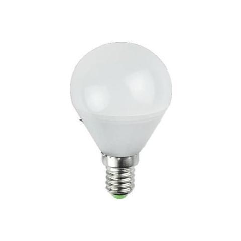 GLOBUS Lampada Sfera Led 5w / e14 Fredda 420lm