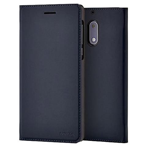 NOKIA Flip Cover Custodia per Nokia 6 Colore Blu