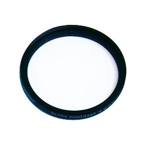 Filtro Ultra Contrasto 3 per Lente della Fotocamera Digitale Nero 4.9 cm 49UC3