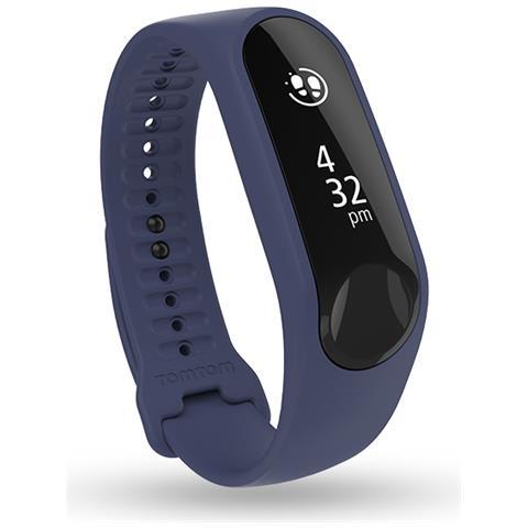 TOMTOM Touch Cardio monitoraggio battito del cuore, attività fisica, sonno, notifiche e modalità multisport Taglia S - Viola