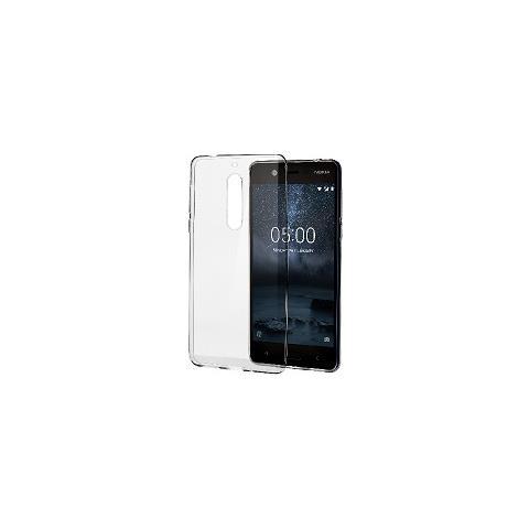 NOKIA Cover in Plastica per Nokia 5 Colore Trasparente