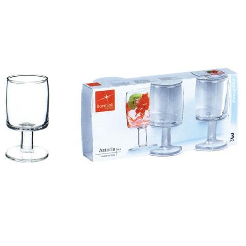 Confezione 3 Pezzi Bicchiere da Vino - Linea Astoria
