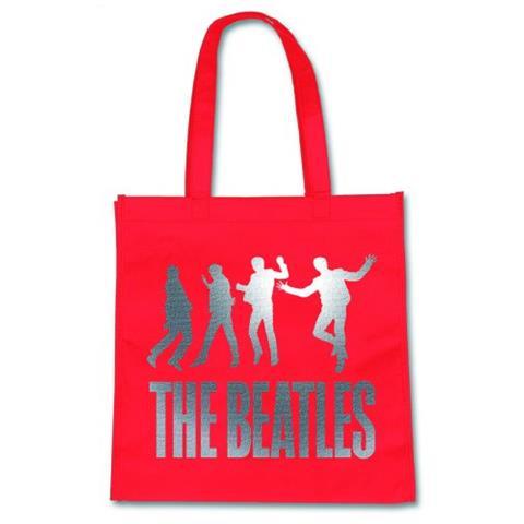 ROCK OFF Beatles (The) - Jump Eco-shopper Red (Borsa)