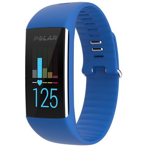 Polar A360 Fitness Tracker Misura M Cardiofrequenzimetro, Contapassi, Calorie e Sonno + Notifiche con vibrazione - Blu