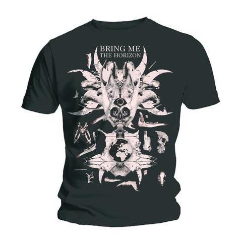 ROCK OFF Bring Me The Horizon - Skull & Bones (T-Shirt Unisex Tg. M)