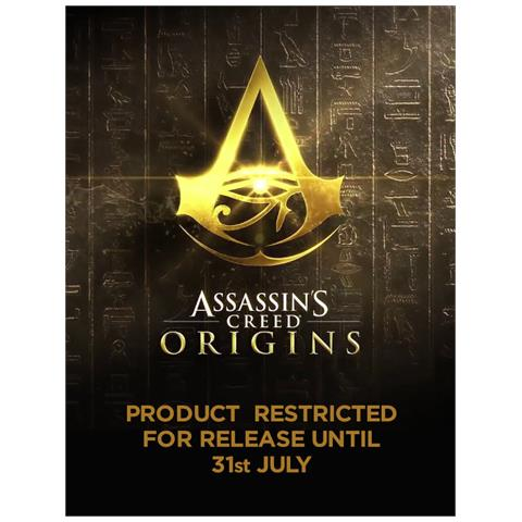 CID Assassin's Creed Origins - Character And Eagle (T-Shirt Unisex Tg. S)