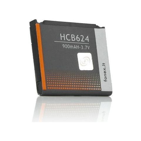 FONEX Batteria Li-Ion High Capacity 900 mAh per Samsung D900 / D900i