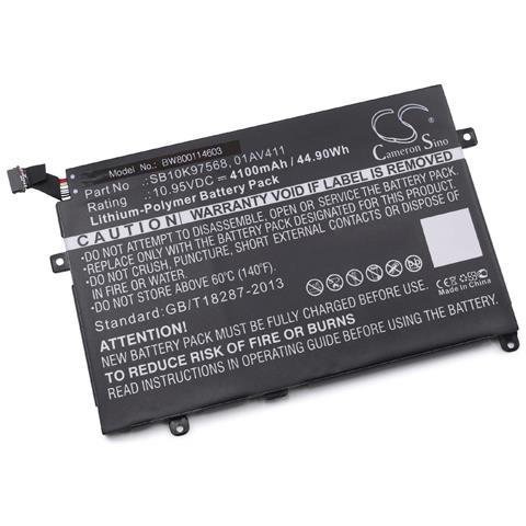 Image of Batteria Compatibile Con Lenovo Thinkpad E475-20h40006us, E475-20h4000aus Laptop, Notebook (4100mah, 10.95v, Li-poly)