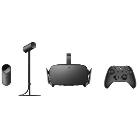 OCULUS Rift Dedicated head mounted display 470g Nero