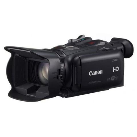 """CANON Legria HF G30 Nero Sensore CMOS PRO Full HD Zoom Ottico 20x Display 3.5"""" Wi-Fi Stabilizzatore Dinamico Doppio slot SDXC"""