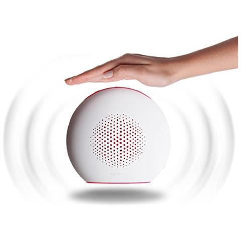 BOOMPODS Doubleblaster 2 bianco / pink