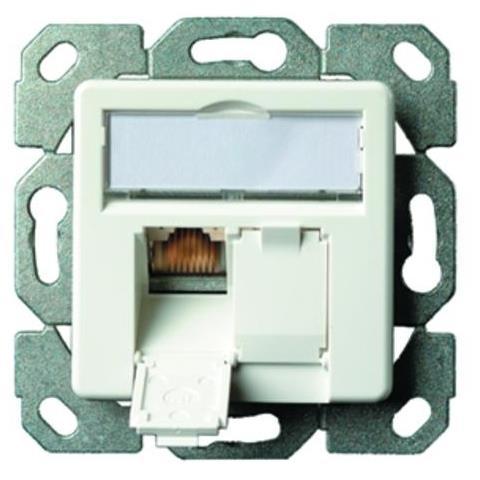 Telegärtner Outlet AMJ45 8/8 Up / 50 Cat. 5e Bianco cavo di interfaccia e adattatore